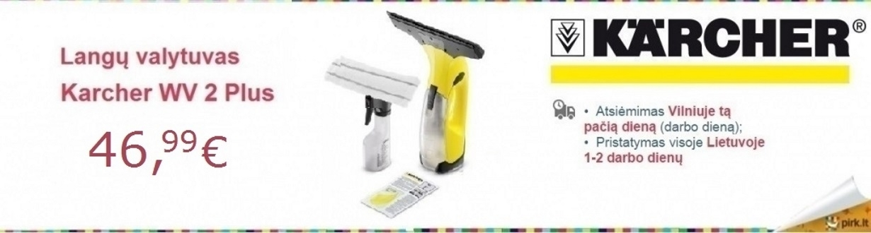 Karcher WV2 Plus 46.99eur