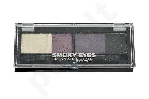 Maybelline Smoky Eyes akių šešėliai, kosmetika moterims, 5g, (31 Smoky Taupe)
