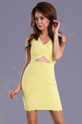 Emamoda suknelė - citrininė 8901-4