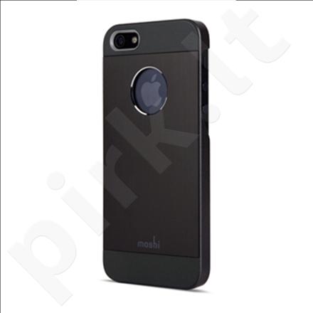 Apple iPhone 5 Glaze Armour slim fit dėklas 61002 juodas