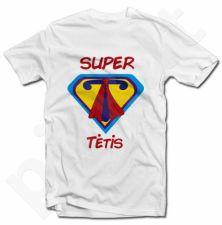 """Marškinėliai """"Super tėtis T"""""""