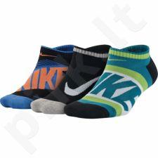 Kojinės Nike Youth Boy's Graphic Cotton Cush Junior 3pack SX5199-900