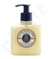 L´Occitane Shea Butter Ultra Rich Hand & Body Wash, kosmetika moterims, 300ml