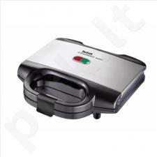TEFAL SM1552 Sandwich maker, Indicator light, Non-stick coating, Power 700W, Black-silver