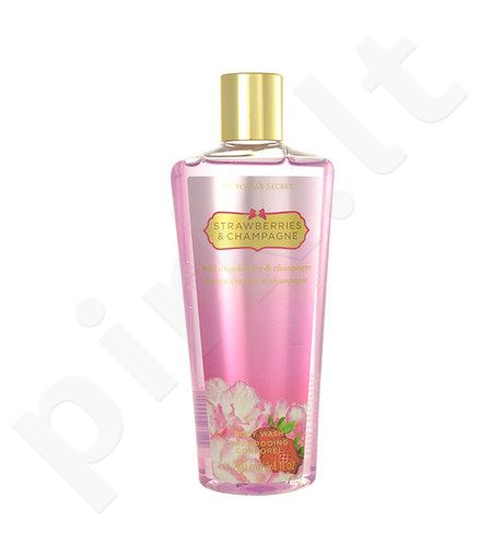 Victoria Secret Strawberries & Champagne, dušo želė moterims, 250ml