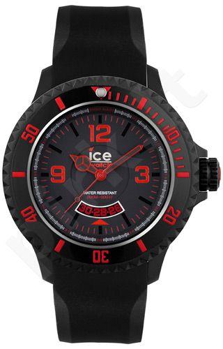 Laikrodis ICE- BLACK RED EXTRA-BIG