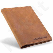 Odinis dėklas dokumentams slim wallet BRODRENE SW01