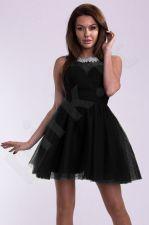 EVA&LOLA suknelė juoda 10012-3