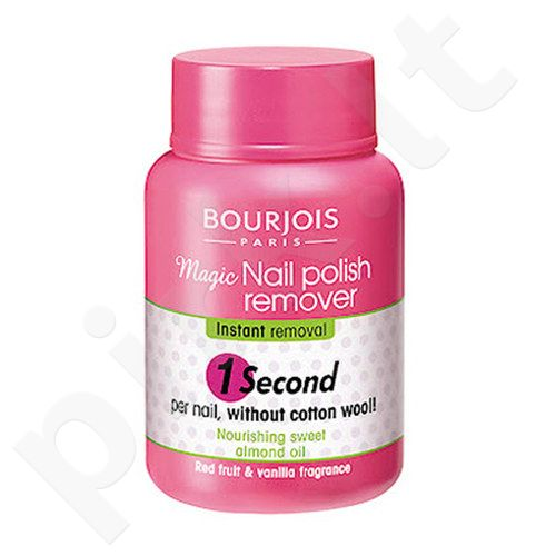 BOURJOIS Paris 1 Second Magic nagų lako valiklis, kosmetika moterims, 75ml