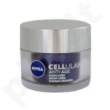 Nivea CELLular Anti-Age naktinis kremas, kosmetika moterims, 50ml
