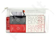 Swissdent Professional Kit rinkinys moterims ir vyrams, (100ml Extreme Whitening Toothpaste + 100ml Crystal Toothkremas + 9ml Extreme Mouth purškiklis)