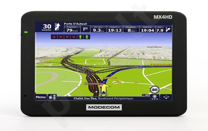 GPS navigacija Modecom FreeWAY MX4 HD, 5'' be žemėlapio