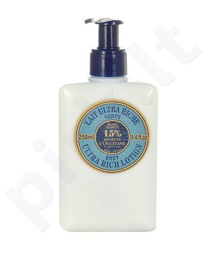 L´Occitane Shea Butter Ultra Rich kūno losjonas, kosmetika moterims, 250ml