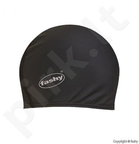 Kepuraitė plaukimui Sport PU lycra 3059 20 black
