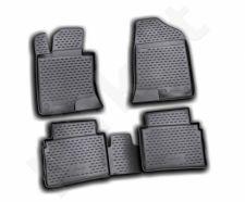 Guminiai kilimėliai 3D HYUNDAI Sonata 2010-2014, 4 pcs. /L27063