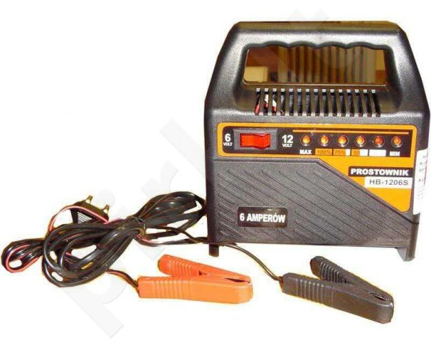 Kroviklis akumuliatoriui 6-12V-6A HB 1206