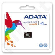 Atminties kortelė Adata microSDHC 4GB CL4