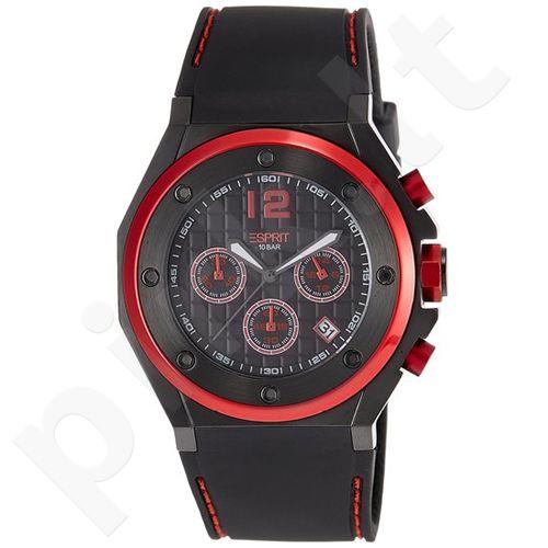 Esprit ES104171002 Solano Red vyriškas laikrodis-chronometras