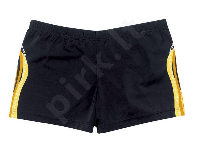 Maudymosi glaudės boxer vyrams 7032 0 5 black/orange/yel