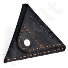 Odinė piniginė monetoms wallet BRODRENE CW01 juoda