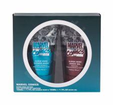 Marvel Comics Hero, rinkinys dušo želė vyrams, (dušo želė 150 ml + skutimosi želė 150 ml)