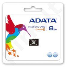 Atminties kortelė Adata microSDHC 8GB CL4