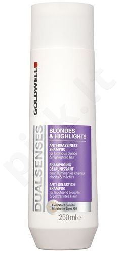 Goldwell Dualsenses Blondes Highlights šampūnas, kosmetika moterims, 1500ml