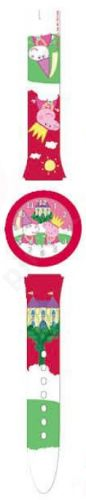 Laikrodis PEPPA PIG FUCSIA - Tin Box