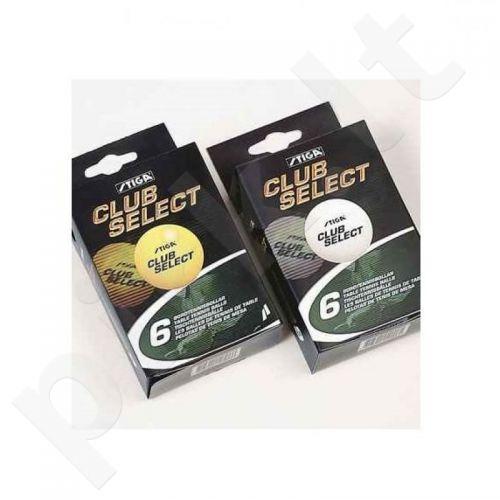 Stalo teniso kamuoliukai STIGA Club Select 6 vnt. oranžinė
