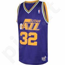 Marškinėliai krepšiniui Adidas Swingman Utah Jazz Retired Karl Malone M A46655