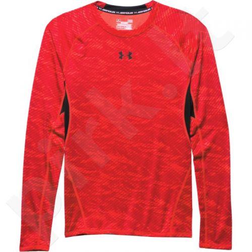 Marškinėliai kompresiniai Under Armour HeatGear® Armour Printed Long Sleeve Compression M 1258896-984