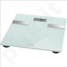 AEG Bathroom scales PW 5644 FA  Maximum weight (capacity) 180 kg, Accuracy 100 g, Memory function, 10 user(s), White