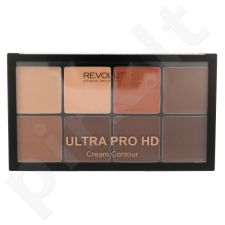 Makeup Revolution London Ultra Pro HD kreminė kontūravimo paletė, kosmetika moterims, 20g, (Medium Dark)