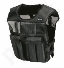 Liemenė pasunkinta WEIGHTED VEST 10kg black