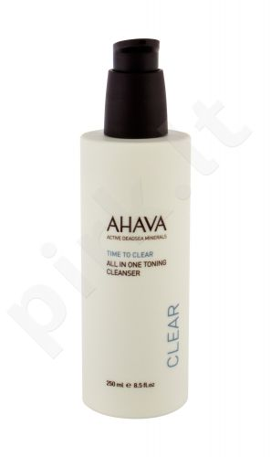 AHAVA Clear, Time To Clear, prausiamasis pienelis moterims, 250ml
