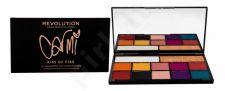 Makeup Revolution London X Carmi, Eyeshadow & Highlighter, akių šešėliai moterims, 27g, (Kiss Of Fire)