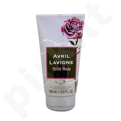 Dušo želė moterims Avril Lavigne Wild Rose, 150ml