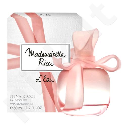 Nina Ricci Mademoiselle Ricci L´Eau, EDT moterims, 50ml