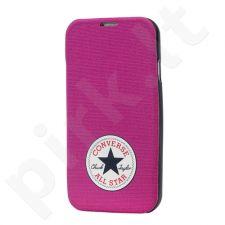 Samsung Galaxy S4 dėklas CONVERSE Ascendeo rožinis