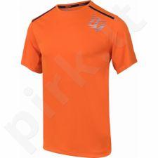Marškinėliai tenisui Wilson Linear Blur Print Crew M WRA730702