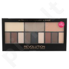Makeup Revolution London Ultra Eye Contour, Light & Shade, akių šešėliai moterims, 14g