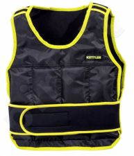 Liemenė pasunkinta WEIGHTED VEST BASIC 6kg black