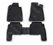 Guminiai kilimėliai 3D HYUNDAI Santa Fe 2006-2010, 4 pcs. /L27055