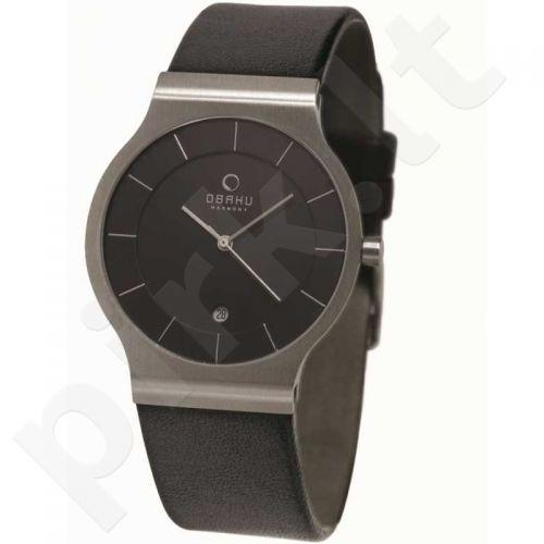 Vyriškas laikrodis OBAKU OB V133GCBRB1