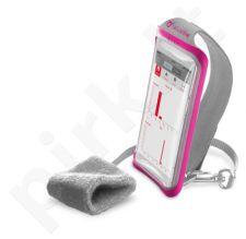 Sportinis dėklas ant rankos su apyranke ant riešo 5.2 Cellular rožinis