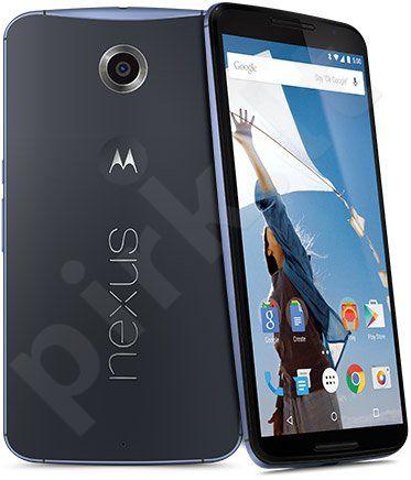 Telefonas Motorola Nexus 6 64GB mėlynas