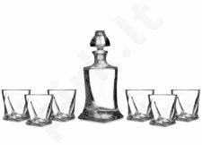 Rinkinys viskiui - grafinas su taurėmis 112675