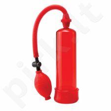 Penio pompa pradedantiems Power Pump - Raudona