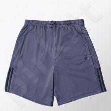 Šortai sportiniai Adidas Base 3 Stripes Knit Short M S21972