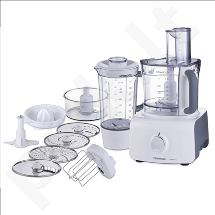 Kenwood FDP623WH Food Processor, Variable speed + Pulse, 3L bowl capacity, 1,5L liquidizer, 1000W, White